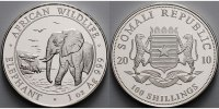 Somalia 100 Shillings<br>1 oz.<br>Ø 39 mm ...