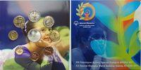 13,88 2011 Griechenland Kursmünzensatz stgl, Special Olympics + 10 Euro... 69,00 EUR  + 17,00 EUR frais d'envoi