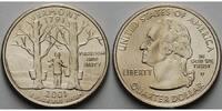 1/4 $ 2001 D USA Vermont D - Kupfer-Nickel - vz  6,00 EUR  + 7,00 EUR frais d'envoi