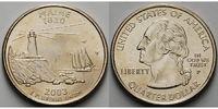 1/4 $ 2003 P USA Maine P - Kupfer-Nickel - vz  5,00 EUR  + 7,00 EUR frais d'envoi