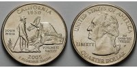 USA 1/4 $ 2005 P vz California P - Kupfer-Nickel - 5,00 EUR