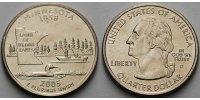 1/4 $ 2005 D USA Minnesota D - Kupfer-Nickel - vz  5,00 EUR  + 7,00 EUR frais d'envoi