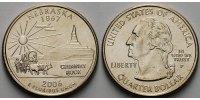 1/4 $ 2006 P USA Nebraska P - Kupfer-Nickel - vz  5,00 EUR  + 7,00 EUR frais d'envoi