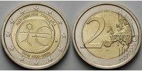 2 Euro 2009 Italien 10 Jahre Europäische Wirtschafts- u. Währungsunion ... 4,50 EUR  + 7,00 EUR frais d'envoi