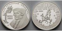 10 Euro 2009 Belgien Erasmus von Rotterdam PP  46,80 EUR  + 17,00 EUR frais d'envoi