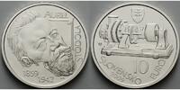 10 Euro 2009 Slowakei Aurel Stodola 1859 - 1942 - 150. Geburtstag, mit ... 24,50 EUR  + 7,00 EUR frais d'envoi