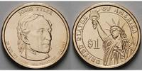 USA 1 $ 2009 D vz John Tyler / Kupfer-Nickel, Denver 3,50 EUR