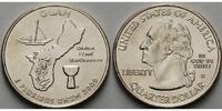 1/4 $ 2009 D USA Guam /D - Kupfer-Nickel - vz  4,00 EUR  + 7,00 EUR frais d'envoi