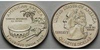 1/4 $ 2009 P USA American Samoa /P - Kupfer-Nickel - vz  4,00 EUR  + 7,00 EUR frais d'envoi
