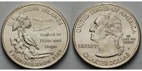 USA 1/4 $ 2009 P vz Virgin Islands /P - Kupfer-Nickel - 4,00 EUR
