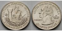 1/4 $ 2009 P USA Northern Mariana Islands /P - Kupfer-Nickel - vz  4,00 EUR  + 7,00 EUR frais d'envoi