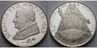 1973  Silber-Medaille Papst Johannes XXIII im Etui PP leicht berieben  89,00 EUR  + 17,00 EUR frais d'envoi