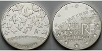 Frankreich 1 1/2 Euro 60. Jahrestag Ende 2. Weltkrieg / Europaprogramm inkl. Etui& Zertifikat& Schuber