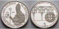 5 Euro 2005 Portugal 800. Geburtstag P.H. Papst Johannes XXI., inkl. Et... 64,50 EUR  + 17,00 EUR frais d'envoi