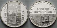 10 Euro 2003 Finnland Anders Chydenius, inkl. Etui & Zertifikat PP  49,00 EUR  + 17,00 EUR frais d'envoi