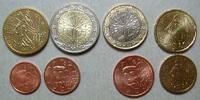 3,88 € gemischt Frankreich Loser Kursmünzensatz stgl  6,00 EUR