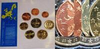 3,88 € 2002 Griechenland KMS mit allen 8 Fremdprägungen in Noppenfolie ... 15,00 EUR
