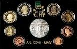 3,88€ 2005 Vatikan Original Kursmünzensatz PP  245,00 EUR  zzgl. 5,50 EUR Versand