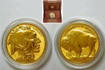 USA 50 Dollar 50 Dollar USA Gold 2013- Büffel Double Eagle - Reverse PROOF