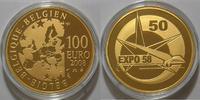 100 Euro 2008 Belgien Gold Münze 50. Jahrestag Weltausstellung in Brüss... 780,00 EUR