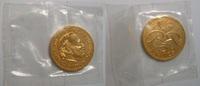 5 Fr 1974 Monako Probe (Essai) in Gold fast stgl.  780,00 EUR