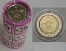 50€ 2008 Belgien 2€ Gedenkmünze 2008 Menschenrechte  ROLLE bfr  75,00 EUR67,50 EUR