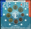 3,88 € 2009 Frankreich Original Kursmünzensatz stgl  35,00 EUR