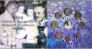 13,88 € 2012 Griechenland Original Kursmünzensatz - 50. Todestag von Ge... 59,00 EUR  zzgl. 4,50 EUR Versand