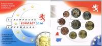 5,88€ 2010 Luxemburg Original Kursmünzensatz stgl  28,00 EUR
