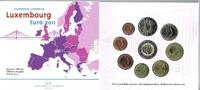 5,88€ 2011 Luxemburg Original Kursmünzensatz Moderne Architektur stgl  24,00 EUR