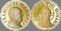 10,00€ 2015 Vatikan Goldmünze  Die Taufe PP  325,00 EUR  zzgl. 5,50 EUR Versand