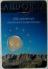 2,00 € 2014 Andorra 20 JAHRE BEITRITT EUROPARAT stgl  46,00 EUR  zzgl. 4,50 EUR Versand