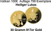 100,00€ 2016 Vatikan Die Evangelisten -'Heiliger Lukas' nur 799 Exempla... 2500,00 EUR kostenloser Versand