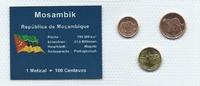 Münzblister 2006 Mosambik Mosambik Münzsatz Kursmünzen 1 5 10 Centavos ... 2,75 EUR  zzgl. 1,00 EUR Versand