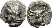 Hemiobol 410-400 v. Chr. Mysien Kyzikos Mysien Hemiobol 410-400 Attis T... 33,00 EUR