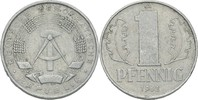 1 Pfennig 1962 DDR DDR Deutschland 1 Pfennig 1962 A Berlin Aluminium SS... 0,20 EUR  zzgl. 1,00 EUR Versand