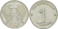1 Pfennig 1953 DDR DDR Deutschland 1 Pfennig 1953 E Muldenhütten Freibe... 5,00 EUR  zzgl. 1,00 EUR Versand