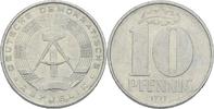 10 Pfennig 1971 DDR DDR Deutschland 10 Pfennig 1971 A Berlin Aluminium ... 0,75 EUR  zzgl. 1,00 EUR Versand