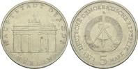 5 Mark 1971 DDR DDR Deutschland 5 Mark 1971 A Berlin Brandenburger Tor ... 2,00 EUR  zzgl. 1,00 EUR Versand