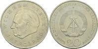 20 Mark 1972 DDR DDR Deutschland 20 Mark 1972 A Berlin Wilhelm Pieck 18... 2,00 EUR  zzgl. 1,00 EUR Versand
