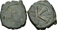 1/2 Follis 563/564 Byzanz Byzanz Justinian I Halbfollis 20 Nummi Thessa... 8,00 EUR  zzgl. 1,00 EUR Versand