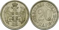 20 Para 1917 Serbien Serbien Petar I Karadjordjevic 20 Para 1917 Cu-Ni ... 35,00 EUR  zzgl. 3,00 EUR Versand
