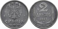 2 Dinara 1942 Serbien Serbien Deutsche Besatzung (1941-1944) 2 Dinara 1... 5,00 EUR  zzgl. 1,00 EUR Versand