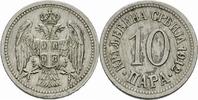 10 Para 1912 Serbien Serbien Petar I Karadjordjevic 10 Para 1912 Cu-Ni ... 4,00 EUR  zzgl. 1,00 EUR Versand