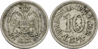 10 Para 1912 Serbien Serbien Petar I Karadjordjevic 10 Para 1912 Cu-Ni ... 2,00 EUR  zzgl. 1,00 EUR Versand
