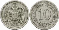 10 Para 1912 Serbien Serbien Petar I Karadjordjevic 10 Para 1912 Cu-Ni ... 5,00 EUR  zzgl. 1,00 EUR Versand