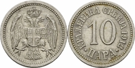 10 Para 1912 Serbien Serbien Petar I Karadjordjevic 10 Para 1912 Cu-Ni ... 6,00 EUR  zzgl. 1,00 EUR Versand
