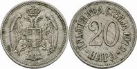 20 Para 1912 Serbien Serbien Petar I Karadjordjevic 20 Para 1912 Cu-Ni ... 5,00 EUR  zzgl. 1,00 EUR Versand