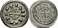 Denar 1095-1116 Ungarn Ungarn Koloman 1095-1116 Denar Kreuz Halbmond Ar... 57,00 EUR  zzgl. 3,00 EUR Versand