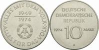 10 Mark 1974 DDR DDR Deutschland 10 Mark 1974 A Berlin 25 Jahre DDR 194... 1,80 EUR  zzgl. 1,00 EUR Versand